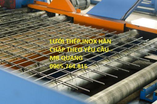 Lưới thép hàn- sản phẩm không thể thiếu trong mọi công trình xây dựng