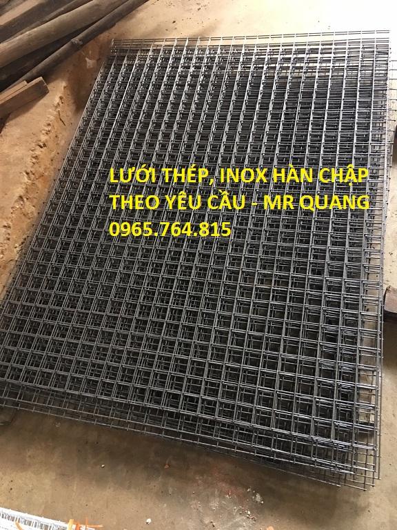 Lưới inox hàn được dùng phổ biến để lọc cát, lọc khoáng sản