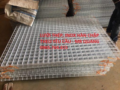 Tấm lưới thép hàn chậpbền đẹp chắc chắn
